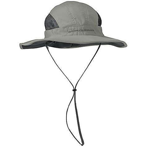 Free Shipping. Outdoor Research SunShower Sombrero FEATURES of the Outdoor Research SunShower Sombrero Waterproof Breathable Wicking Seam Taped Removable Rain Cover Rain Cover Stores in Attached Pocket Foam-Stiffened Brim Floats Wicking TransAction Headband Breathable Mesh Panels Internal Cinch-Band Adjustment Removable Chin Cord - $67.00