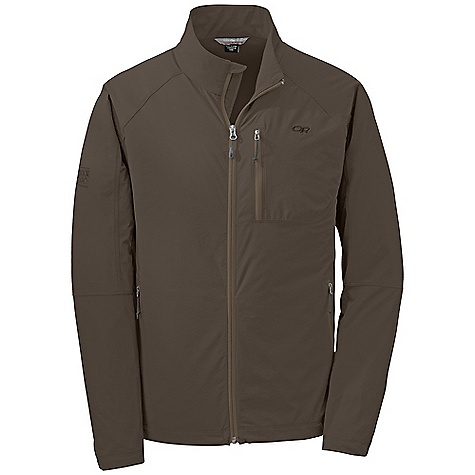 On Sale. Free Shipping. Outdoor Research Men's Ferrosi Jacket DECENT FEATURES of the Outdoor Research Men's Ferrosi Jacket Water Resistant Wind Resistant Breathable Lightweight Durable Movement-Mirroring Stretch Single-Separating Front Zipper Zippered Napoleon Pocket Two Zippered Hand Pockets Left Hand Pocket Doubles as Stuff Sack Carabiner Loop Drawcord Hem DWR Coated Zippers The SPECS Weight: (L): 12.7 oz / 359 g Fit: Standard Center Back Length: 30 1/4in. / 77 cm 86% ripstop, 14% spandex body, stretch-woven This product can only be shipped within the United States. Please don't hate us. - $65.99