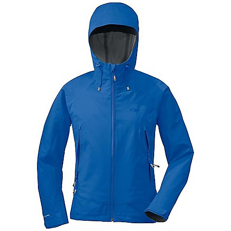 Free Shipping. Outdoor Research Women's Paladin Jacket DECENT FEATURES of the Outdoor Research Women's Paladin Jacket Waterproof Breathable Lightweight Fully Seam Taped Water-Resistant Zippers Fully Adjustable Hood Fits Over Helmet Single-Separating Front Zipper Internal Front-Zip Stormflap Pit Zips Two Zippered Hand Pockets Hand Pockets Set Above Hip Belt or Harness Internal Mesh Chest Pocket Hood Tunnels Corral Cord Ends Articulated Elbows Hook/Loop Cuff Closures Drawcord Hem The SPECS Weight: (M): 13.1 oz / 370 g Trim Fit Center Back Length: 26 3/4in. / 69 cm Pertex Shield + 3L, 100% nylon 30D This product can only be shipped within the United States. Please don't hate us. - $249.95