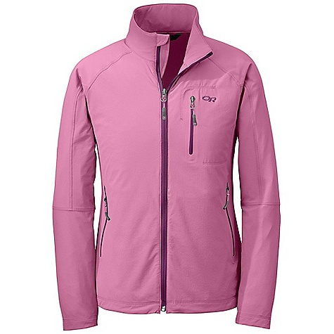 Free Shipping. Outdoor Research Women's Ferrosi Jacket DECENT FEATURES of the Outdoor Research Women's Ferrosi Jacket Water Resistant Wind Resistant Breathable Lightweight Durable Single-Separating Front Zipper Zippered Napoleon Pocket Left Hand Pocket Doubles as Stuff Sack Carabiner Loop Drawcord Hem DWR Coated Zippers The SPECS Weight: (M): 10.6 oz / 301 g Fit: Standard Center Back Length: 26 1/2in. / 67 cm 86% ripstop, 14% spandex This product can only be shipped within the United States. Please don't hate us. - $94.95