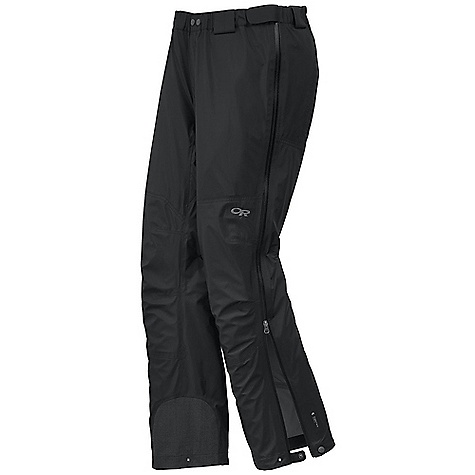 On Sale. Free Shipping. Outdoor Research Men's Paladin Pant DECENT FEATURES of the Outdoor Research Men's Paladin Pant Waterproof Breathable Lightweight Fully Seam Taped Water-Resistant Zippers Accepts Accessory Suspenders Belt Loops Dual-Snap Zipper Fly Adjustable Tabs at Waist Zippered Pockets Double-Separating Side Zippers Gusseted Crotch Articulated Knees Reinforced Scuff Guards Cuff Closures Grommets for Instep Lace The SPECS Weight: (L): 15.7 oz / 446 g Fit: Standard Inseam: 33in. / 83.8 cm Pertex Shields 3L, 100% nylon 30D This product can only be shipped within the United States. Please don't hate us. - $174.99