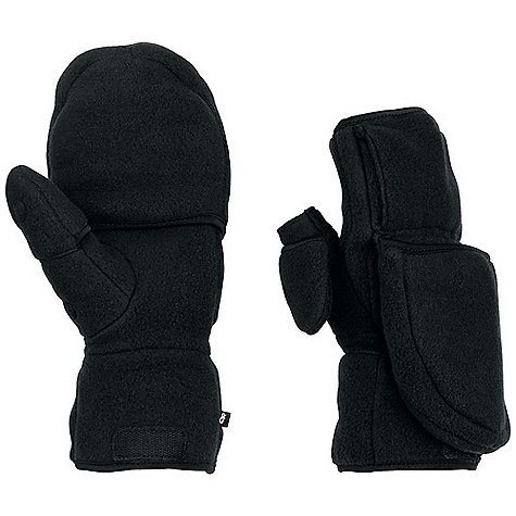 Free Shipping. Outdoor Research Meteor Mitt FEATURES of the Outdoor Research Meteor Mitt Durable Waterproof Breathable Wicking Removable Liner Pre-Curved Box Construction SuperCinch Gauntlet Closure Ladder-Lock Wrist Cinch Heat Pack Pocket on Back of Liner Flip-Top Finger and Thumb Cover on Liner Magnetic Flip-Top Retention Points Pull Loop - $75.00