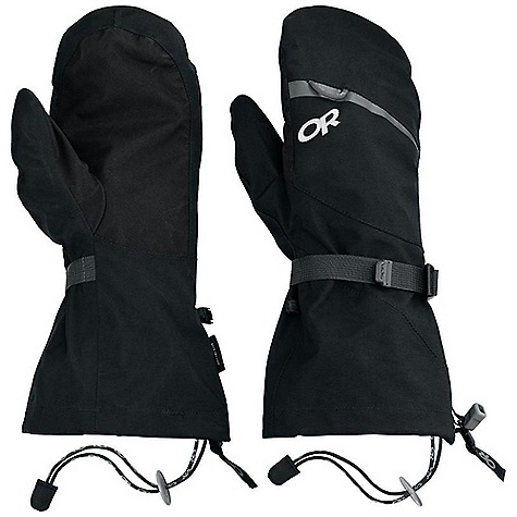 Free Shipping. Outdoor Research MT Baker Modular Mitt FEATURES of the Outdoor Research MT Baker Modular Mitt Durable Waterproof Breathable Lightweight Wicking Fully Seam Taped Removable Liner Moonlite Pile Fleece Liner Palms Pre-Curved Box Construction SuperCinch Gauntlet Closure Ladder-Lock Wrist Cinch ToughTek LT Tabs Prevent Slipping Heat Pack Pocket on Back of Liner Pull Loop Carabiner Loop - $140.00