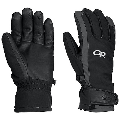 Free Shipping. Outdoor Research Men's Extravert Glove DECENT FEATURES of the Outdoor Research Men's Extravert Glove Durable Water Resistant Wind Resistant Breathable Lightweight Wicking Quick Drying Soft and Tactile Leather Palm Pre-Curved Box Construction Three-Panel Thumb Hook and Loop Wrist Closure Pull Loop The SPECS Weight: (L, per pair): 5.0 oz / 143 g Comfort Range: 10/30deg F / -12/-1deg C 100% nylon Goat leather palm 40% wool, 35% acrylic, 25% polyester lining Wool This product can only be shipped within the United States. Please don't hate us. - $64.95