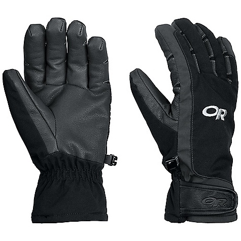 Free Shipping. Outdoor Research Women's Extravert Glove DECENT FEATURES of the Outdoor Research Women's Extravert Glove Durable Water Resistant Wind Resistant Breathable Lightweight Wicking Quick Drying Soft and Tactile Leather Palm Pre-Curved Box Construction Three-Panel Thumb Hook and Loop Wrist Closure Pull Loop The SPECS Weight: (M, per pair): 3.8 oz / 109 g Comfort Range: 10/30deg F / -12/-1deg C 100% nylon Goat leather palm 40% wool, 35% acrylic, 25% polyester lining Wool This product can only be shipped within the United States. Please don't hate us. - $64.95