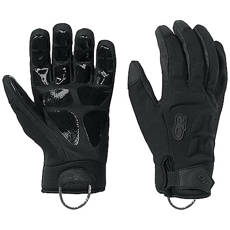 On Sale. Free Shipping. Outdoor Research StormCell Glove DECENT FEATURES of the Outdoor Research StormCell Glove Durable Waterproof Windproof Breathable Wicking Ultra Tactile Chamude Clarino Palm Back-of-Hand EVA Foam Padding Silicone Grip Pads on Palm and Finger Tips Hook and Loop Wrist Closure Neoprene Wrist Pull Loop The SPECS Weight: (L): 4.2 oz / 119 g Comfort Range: 15/40deg F / -17/-1deg C Gore-Tex insert with X-Trafit Technology 100% stretch-nylon face Synthetic Leather Clarino palm Neoprene back of hand and back of fingers Gore-Tex This product can only be shipped within the United States. Please don't hate us. - $76.99