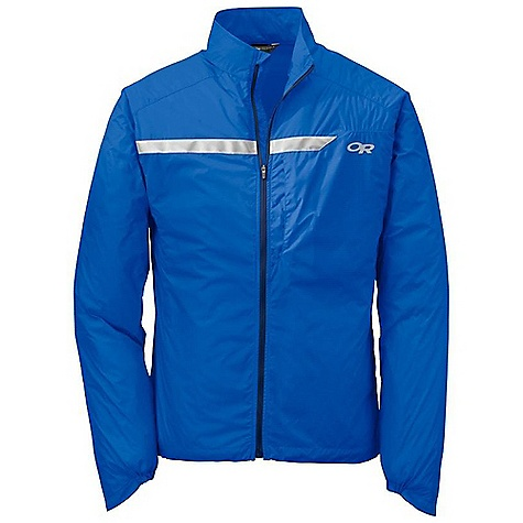 Free Shipping. Outdoor Research Men's Vigor Jacket DECENT FEATURES of the Outdoor Research Women's Vigor Jacket Ultra light Internal front zip storm flap Reflective tape on chest, shoulders Utility pockets: Chest, back Back pocket doubles as stuff sack Contoured cuffs extend over hand Elastic on underside of wrist Draw cord hem Trim fit The SPECS Weight: (L): 4.9 oz / 140 g Center Back Length: 29 1/2in. / 75 cm Fabric: 100% Nylon, 30D Pertex Micro light ripstop fabric This product can only be shipped within the United States. Please don't hate us. - $69.95