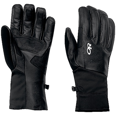 Ski On Sale. Free Shipping. Outdoor Research Men's Crave Gloves DECENT FEATURES of the Outdoor Research Men's Crave Gloves Flex Action wrist articulation matches the natural, active-hand position while skiing Soft nose wipe on thumb Hook/loop tab gauntlet closure fits under jacket cuff The SPECS Average Weight: (L, Per Pair): 6.9 oz / 196 g Target Comfort Range: -5/25deg F / -20/-4deg C Fabric: Shell: Ventia Dry construction, Waterproof/breathable Ventia insert, All-leather construction rip stop lined gauntlet, Insulation: Endura Loft Insulation: 340g on back of hand, 200g on palm, 133g on gauntlet, Smooth tricot lining, Palm: Reinforced leather panel on palm wraps around pole-strap path This product can only be shipped within the United States. Please don't hate us. - $46.99