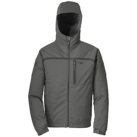 On Sale. Free Shipping. Outdoor Research Men's Mithrilite Jacket DECENT FEATURES of the Outdoor Research Men's Mithrilite Jacket Waterproof Breathable Fully Seam Taped Water-Resistant Zippers Fully Adjustable Hood Single-Separating Front Zipper Internal Front-Zip Stormflap Double-Sliding TorsoFlo Hem-To-Bicep Zippers Zippered Napoleon Pocket Two Zippered Hand Pockets Hook/Loop Cuff Closures Drawcord Hem The SPECS Weight: (L): 21.5 oz / 608 g Fit: Trim Center Back Length: 28 1/2in. / 75 cm Ventia Dry 3L 100% Polyester knit tace, polyester mesh backing This product can only be shipped within the United States. Please don't hate us. - $118.99