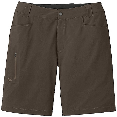 On Sale. Free Shipping. Outdoor Research Men's Ferrosi Short DECENT FEATURES of the Outdoor Research Men's Ferrosi Short Wind Resistant Breathable Durable Belt Loops Button and Zipper Fly Low-Profile Waist Fits Under Harness Brushed-Tricot-Lined Waistband Front Slash Pockets Zippered Rear Pockets Zippered Thigh Pocket Gusseted Crotch The SPECS Weight: 8.0 oz / 227 g Fit: Standard Inseam: 12in. / 30 cm 86% ripstop, 14% spandex, stretch-woven This product can only be shipped within the United States. Please don't hate us. - $44.99