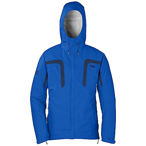 On Sale. Free Shipping. Outdoor Research Men's Panorama Jacket DECENT FEATURES of the Outdoor Research Men's Panorama Jacket Waterproof Breathable Fully Seam Taped Fully Adjustable Hood Double-Separating Front Zipper Internal Front-Zip Stormflap External Front-Zip Stormflap Double-Sliding TorsoFlo Hem-To-Bicep Zippers Two Zippered Hand Pockets Left Hand Pocket Doubles as Stuff Sack Articulated Elbows Hook/Loop Cuff Closures Drawcord Hem The SPECS Weight: (L): 14.4 oz / 407 g Fit: Standard Center Back Length: 30in. / 79 cm Ventia Dry 2.5L, 100% nylon 40D ristop This product can only be shipped within the United States. Please don't hate us. - $86.99