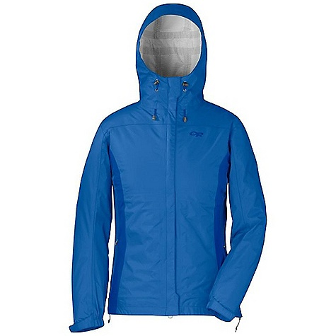 Free Shipping. Outdoor Research Women's Panorama Jacket DECENT FEATURES of the Outdoor Research Women's Panorama Jacket Waterproof Breathable Fully Seam Taped Fully Adjustable Hood Rolls Up and Stows Double-Separating Front Zipper External Front-Zip Stormflap Double-Sliding TorsoFlo Hem-To-Bicep Zippers Two Zippered Hand Pockets Left Hand Pocket Doubles as Stuff Sack Articulated Elbows Hook/Loop Cuff Closures Drawcord Hem The SPECS Weight: (M): 12.0 oz / 339 g Fit: Standard Center Back Length: 26 3/4in. / 68 cm Ventia Dry 2.5L, 100% nylon 40D ripstop This product can only be shipped within the United States. Please don't hate us. - $124.95