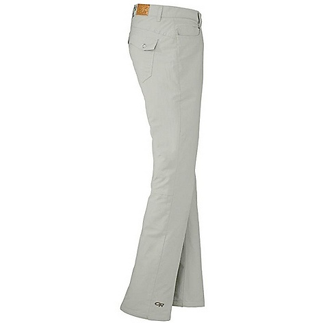 Free Shipping. Outdoor Research Women's Vagabond Pant DECENT FEATURES of the Outdoor Research Women's Vagabond Pant Belt Loops Snap and Zipper Fly Low-Profile Waist Fits Under Harness Front Slash Pockets Back Patch Pockets with Snap Closures Articulated Knee Flared Leg The SPECS Weight: 9.5 oz / 268 g Fit: Standard Inseam: 32in. / 81 cm 68% cotton, 32% nylon This product can only be shipped within the United States. Please don't hate us. - $69.95