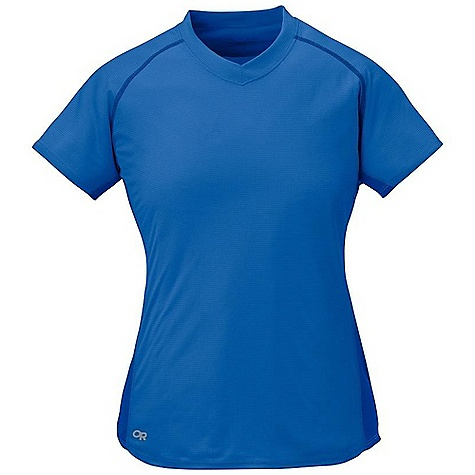 On Sale. Outdoor Research Women's Echo Duo Tee DECENT FEATURES of the Outdoor Research Women's Echo Duo Tee Lightweight Quick-drying Manages moisture UPF 15 Polygiene active odor control Flat-seam construction reduces chafing Raglan sleeves Flap pocket Trim Fit The SPECS Weight: (M): 2.1 oz / 59 g Fabric: Air Vent: 100% Polyester, Olivine colorway is rated UPF 10 This product can only be shipped within the United States. Please don't hate us. - $13.99