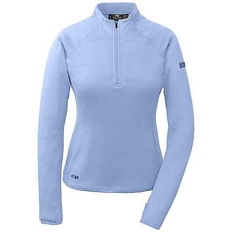 On Sale. Free Shipping. Outdoor Research Women's Radiant LT Zip Top DECENT FEATURES of the Outdoor Research Women's Radiant LT Zip Top 1/4 length front zipper Flatlock stitching Wraparound panels Thumb loops Lycra bindings at thumb and cuffs The SPECS Weight: (M): 8.8 oz / 250 g Fit: Trim Center Back Length: 24 1/2in. / 62 cm Fabric: Radiant LT Fleece: 95% polyester / 5% spandex This product can only be shipped within the United States. Please don't hate us. - $67.96