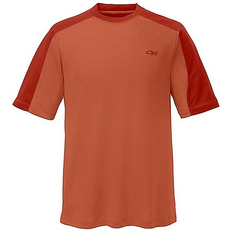 On Sale. Outdoor Research Men's Sequence Duo Tee DECENT FEATURES of the Outdoor Research Men's Sequence Duo Tee Lightweight Quick Drying Wicking Fresh Guard Odor Neutralization Raglan Sleeves The SPECS Weight: (L): 6.5 oz / 184 g Fit: Trim Drirelease Wool: 88% polyester, 12% merino wool This product can only be shipped within the United States. Please don't hate us. - $29.99