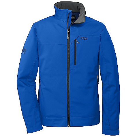 Free Shipping. Outdoor Research Men's Transfer Jacket DECENT FEATURES of the Outdoor Research Men's Transfer Jacket Water Resistant Wind Resistant Breathable Fully Adjustable Hood Brushed-Tricot-Lined Collar Single-Separating Front Zipper Zippered Napoleon Pocket Two Zippered Hand Pockets Hook/Loop Cuff Closures Drawcord Hem The SPECS Weight: (L): 23.1 oz / 654 g Trim Fit Center Back Length: 29in. / 74 cm 100% nylon face 100% polyester brushed fleece Interior This product can only be shipped within the United States. Please don't hate us. - $129.95