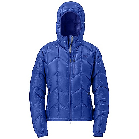 On Sale. Free Shipping. Outdoor Research Women's Incandescent Hoody DECENT FEATURES of the Outdoor Research Women's Incandescent Hoody 800+ fill down insulation Ultralight Ultracompressible Water resistant Breathable Double-separating front zipper Internal storm flap Down-filled hood Two zippered handwarmer pockets Right pocket doubles as stuff sack Zippered napoleon pocket Articulated elbows Elastic cuffs with tricot lining Drawcord hem The SPECS Weight: (M): 14.4 oz / 408 g Fit: Standard Center Back Length: 27in. / 69 cm Fabric: 100% ripstop nylon 10D Pertex Quantum fabric with DWR coating body / 100% nylon taffeta 20D lining This product can only be shipped within the United States. Please don't hate us. - $210.99