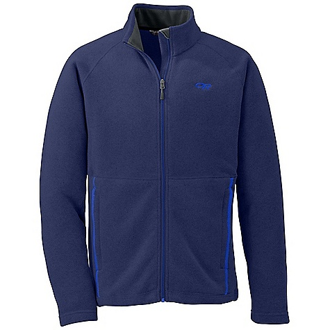Free Shipping. Outdoor Research Men's Longhouse Jacket DECENT FEATURES of the Outdoor Research Men's Longhouse Jacket Wicking Full Center Front Zipper Internal Front-Zip Stormflap Two Zippered Hand Pockets The SPECS Weight: (L): 23.7 oz / 672 g Standard Fit Center Back Length: 28 1/2in. / 72 cm 100% polyester sweater-knit heathered fleece This product can only be shipped within the United States. Please don't hate us. - $114.95