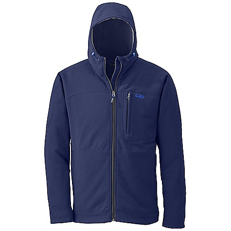 Free Shipping. Outdoor Research Men's Spark Hoody DECENT FEATURES of the Outdoor Research Men's Spark Hoody Wicking Full Center Front Zipper Internal Front-Zip Stormflap Two Zippered Hand Pockets Zippered Napoleon Pocket The SPECS Weight: (L): 26.2 oz / 742 g Standard Fit Center Back Length: 28 1/2in. / 72 cm 100% polyester sweater-knit fleece This product can only be shipped within the United States. Please don't hate us. - $134.95