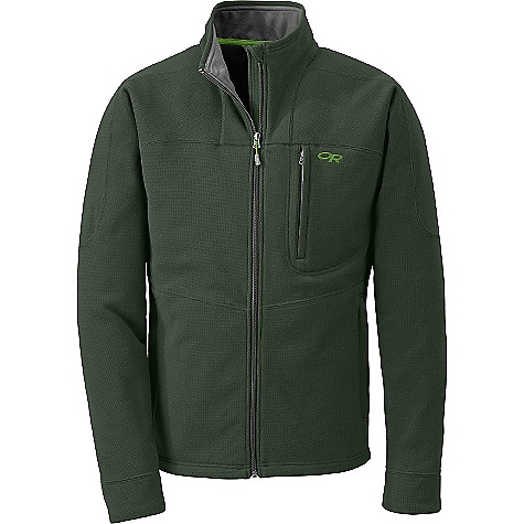 Free Shipping. Outdoor Research Men's Spark Jacket DECENT FEATURES of the Outdoor Research Men's Spark Jacket Wicking Full Center Front Zipper Internal Front-Zip Stormflap Two Zippered Hand Pockets Zippered Napoleon Pocket The SPECS Weight: (L): 23.7 oz / 672 g Standard Fit Center Back Length: 28 1/2in. / 72 cm 100% polyester sweater-knit fleece This product can only be shipped within the United States. Please don't hate us. - $124.95