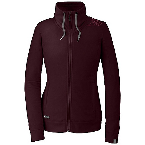 Free Shipping. Outdoor Research Women's Crush Jacket DECENT FEATURES of the Outdoor Research Women's Crush Jacket Quick drying and wicking Slouchy funnel neck with drawcord closure Brushed tricot lined collar Two zippered handwarmer pockets Snowy tree embroidery on left shoulder The SPECS Weight: (M): 13.5 oz / 382 g Fit: Trim Center Back Length: 28in. / 71 cm Fabric: 100% polyester jersey sanded fleece This product can only be shipped within the United States. Please don't hate us. - $98.95