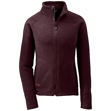 Free Shipping. Outdoor Research Women's Longhouse Jacket DECENT FEATURES of the Outdoor Research Women's Longhouse Jacket Lightweight Quick Drying Wicking Full Center Front Zipper Internal Front-Zip Stormflap Two Zippered Hand Pockets Internal Chest Pocket Flatlock Seams The SPECS Weight (M): 15.9 oz / 451 g Standard Fit Center Back Length: 24 1/2in. / 62 cm 100% polyester sweater-knit heathered fleece This product can only be shipped within the United States. Please don't hate us. - $114.95