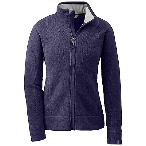 Free Shipping. Outdoor Research Women's Salida Jacket DECENT FEATURES of the Outdoor Research Women's Salida Jacket Wicking Internal front-zip storm flap Two handwarmer pockets Internal snap closure media pocket The SPECS Weight: (M): 21.3 oz / 604 g Fit: Relaxed Center Back Length: 25in. / 64 cm Fabric: 63% polyester / 26% wool / 11% nylon Alpin-wool Plus This product can only be shipped within the United States. Please don't hate us. - $139.95