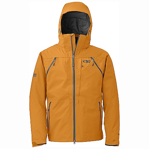 On Sale. Free Shipping. Outdoor Research Men's Inertia Jacket DECENT FEATURES of the Outdoor Research Men's Inertia Jacket Waterproof Breathable Durable Fully Seam Taped Water-Resistant Zippers Fully Adjustable and Detachable Hood Fits Over Helmet Bonded-In-Hood Cordlocks Water-Resistant and Double-Separating Front Zipper Internal Front-Zip Stormflap Double Sliding CrossFlo Chest-to-Hip Zippers Zippered Napoleon Pockets with One Pass Thru Pocket Two Zippered Internal Pockets With Media Ports Two Zippered Hand Pockets Inner Lift Pass Pocket with Drawcord Key Clip Attachment Integrated Recco Reflector Removable Powder Skirt with LockDown Technology Articulated Elbows Thumb Drive Hook/Loop Cuff Closures Drawcord Hem The SPECS Weight: (L): 24.4 oz / 690 g Relaxed Fit Center Back Length: 31 3/4in. / 81 cm Gore-Tex Pro 3L, 100% nylon 70D fabric This product can only be shipped within the United States. Please don't hate us. - $340.99