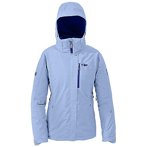Free Shipping. Outdoor Research Women's Aspenglow Jacket DECENT FEATURES of the Outdoor Research Women's Aspenglow Jacket Waterproof Windproof Breathable Fully Seam Taped Water-Resistant Zippers Fully Adjustable and Detachable Hood Fits Over Helmet Internal Front-Zip Stormflap Pit Zips Two Zippered Hand Pockets Arm Pocket Inner Lift Pass Pocket with Drawcord Key Clip Attachment Integrated Recco Reflector Removable Powder Skirt with LockDown Technology Thumb Drive Hook/Loop Cuff Closures The SPECS Weight: (M): 29.4 oz / 833 g Relaxed Fit Center Back Length: 29in. / 74 cm Pertex Shield + 2L, 68% polyester, 32% nylon 40D Thermore insulation 60g This product can only be shipped within the United States. Please don't hate us. - $324.95