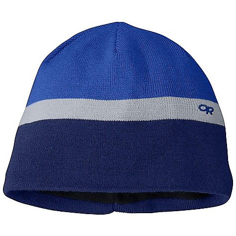 Entertainment Outdoor Research Kids' Ropeline Beanie DECENT FEATURES of the Outdoor Research Kids' Ropeline Beanie Windproof Wicking The SPECS Weight: (M/L): 2.2 oz / 62 g 70% acrylic, 30% wool Full Gore Wind stopper lining, 100% polyester This product can only be shipped within the United States. Please don't hate us. - $25.95