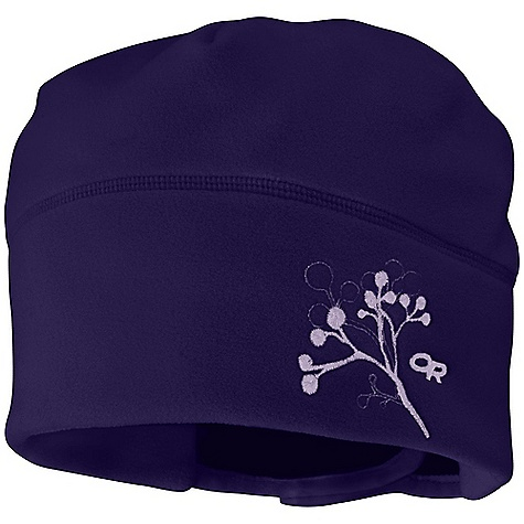 Outdoor Research Women's Icecap Hat DECENT FEATURES of the Outdoor Research Women's Icecap Hat Windproof Wicking Rear Hook/Loop Size Adjustment Embroidered Design Segmented Crown Construction Double Layer Fabric on Earband Designed to Accommodate a Ponytail The SPECS Weight: 1.9 oz / 54 g Windstopper Technical Fleece, 100% polyester This product can only be shipped within the United States. Please don't hate us. - $31.95