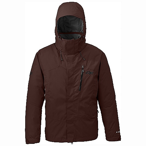 On Sale. Free Shipping. Outdoor Research Men's Igneo Jacket DECENT FEATURES of the Outdoor Research Men's Igneo Jacket Waterproof Windproof Breathable Fully Seam Taped Tonal Seam Treatment Fully Adjustable and Detachable Hood Fits Over Helmet Pit Zips Zippered Napoleon Pocket Inner Lift Pass Pocket with Drawcord Key Clip Attachment Integrated Recco Reflector Removable Powder Skirt with LockDown Technology Thumb Drive Hook Loop Cuff Closures The SPECS Weight: (L): 33.9 oz / 961 g Relaxed Fit Center Back Length: 30.5in. / 78 cm Pertex Shield 2L 70D 100% nylon outer Thermore insulation This product can only be shipped within the United States. Please don't hate us. - $175.99