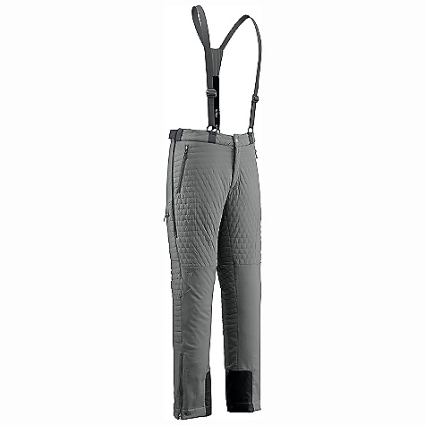 Free Shipping. Outdoor Research Men's Lodestar Pants DECENT FEATURES of the Outdoor Research Men's Lodestar Pants Hybrid Mapped Construction Water Resistant Wind Resistant Breathable Movement-Mirroring Stretch Integrated Suspenders Belt Loops Snap and Zipper Fly Low-Profile Waist Fits Under Harness Zippered Pockets Zippered Thigh Pocket Zippered Thigh Vents Gusseted Crotch Articulated Knees Reinforced Scuff Guards Grommets for Instep Lace The SPECS Weight: (L): 25.7 oz / 729 g Trim Fit Inseam: 33in. / 84 cm Polartec Power Shield High Loft 100% nylon Face: 95% polyester, 5% spandex fleece back body Polartec Power Shield Pro 100% nylon Face: 100% polyester back seat and below knees This product can only be shipped within the United States. Please don't hate us. - $398.95