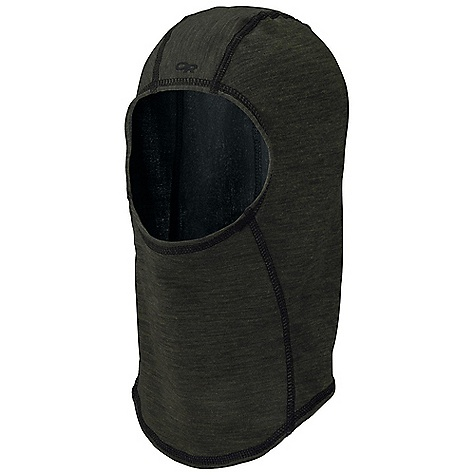 Outdoor Research Lumen Balaclava DECENT FEATURES of the Outdoor Research Lumen Balaclava Breathable Wicking Anti-odor The SPECS Weight: (L/XL): 1.1 oz / 31 g 36% merino wool, 64% polyester This product can only be shipped within the United States. Please don't hate us. - $29.95