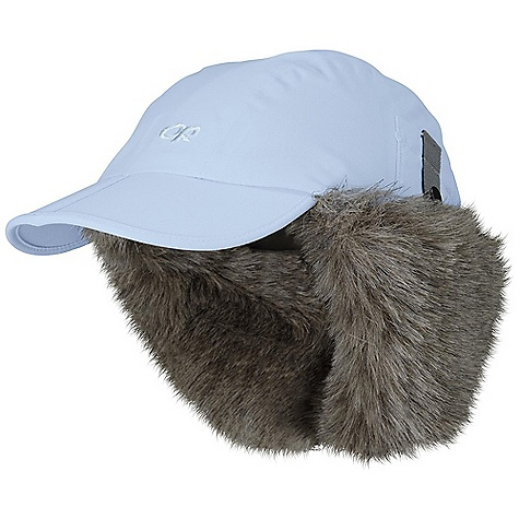 Entertainment Free Shipping. Outdoor Research Trapper Hat DECENT FEATURES of the Outdoor Research Trapper Hat Waterproof Breathable Windproof Wicking Folding Brim for Easy Storage External webbing and Buckle Crown Adjustment Adjustable Webbing Chin-Cord with Buckle Closure Full Faux Fur Lining The SPECS Weight: 5.3 oz / 150 g 100% nylon with PU coating 100% polyester lining This product can only be shipped within the United States. Please don't hate us. - $54.95