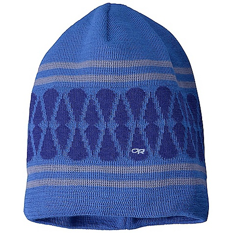Entertainment Outdoor Research Women's Charmed Beanie DECENT FEATURES of the Outdoor Research Women's Charmed Beanie OR embroidery Teardrop graphic pattern The SPECS Weight: 1.8 oz / 51 g Fabric: 88% polyester 12% wool Lightweight knit drirelease Wool fabric manages moisture, dries quickly This product can only be shipped within the United States. Please don't hate us. - $28.95