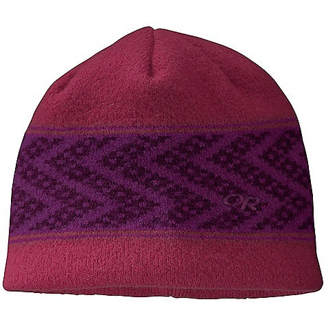 Entertainment Outdoor Research Women's Totem Beanie The SPECS Weight: 2.9 oz / 82 g Fabric: 100% boiled wool Fleece-lined ear band This product can only be shipped within the United States. Please don't hate us. - $30.95