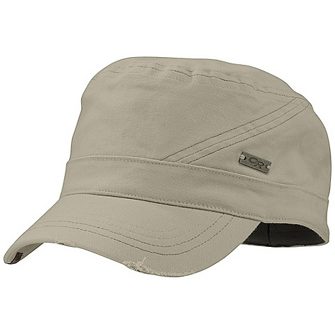 Outdoor Research Command Cap DECENT FEATURES of the Outdoor Research Command Cap Breathable Wicking UPF 50+ Wicking Transaction Headband The SPECS Weight: (L): 2.9 oz / 81 g 98% cotton canvas, 2% spandex This product can only be shipped within the United States. Please don't hate us. - $27.95