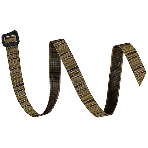 On Sale. Patagonia Friction Belt DECENT FEATURES of the Patagonia Friction Belt Nylon webbing is quick drying and doubles as an emergency lash strap Anodized, anti-corrosive finish on buckle Forged aluminum buckle is lightweight, strong and notched to pry off a bottle cap The SPECS Adjustable fit Weight: 2.2 oz / 62 g 1in. nylon webbing This product can only be shipped within the United States. Please don't hate us. - $19.99