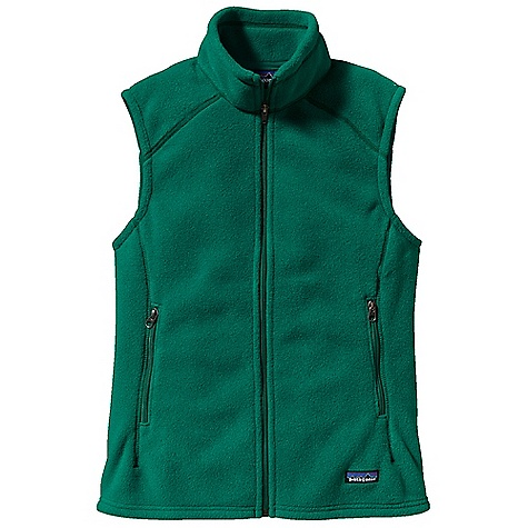 Free Shipping. Patagonia Women's Synchilla Vest DECENT FEATURES of the Patagonia Women's Synchilla Vest Soft, recycled and recyclable Synchilla fleece Double-fleece collar Zippered handwarmer pockets Feminine contemporary styling Hip length The SPECS Regular fit Weight: 8.4 oz / 238 g 7.5-oz 100% polyester (85% recycled) double-faced fleece This product can only be shipped within the United States. Please don't hate us. - $79.00