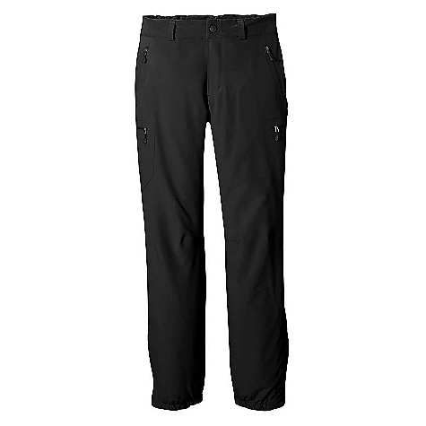 Free Shipping. Patagonia Women's Alpine Guide Pants DECENT FEATURES of the Patagonia Women's Alpine Guide Pants Durable stretch-woven polyester soft shell is water-and wind-resistant, highly breathable, and treated with a Deluge DWR finish Brushed interior for next-to-skin comfort Waistband is elasticized in back with belt loops and zippered fly External pockets: Two front slash, two glued-on thigh All zippers treated with Deluge DWR finish Gusseted, zippered cuff with 2-position adjustable settings and tie-down loops The SPECS Slim fit Weight: 20 oz / 567 g 7.6-oz 90-denier 92% polyester (47% recycled), 8% spandex, with a Deluge DWR (durable water repellent) finish This product can only be shipped within the United States. Please don't hate us. - $149.00