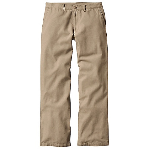 Hunting Free Shipping. Patagonia Men's Duck Pants DECENT FEATURES of the Patagonia Men's Duck Pants Supple organic cotton canvas Classic flat-front styling Slant side-entry front pockets Welted, button-through rear pockets Slant side-entry front pockets Welted, button-through back pockets The SPECS Relaxed fit 8-oz 100% organic cotton canvas The SPECS for Short Weight: 20.5 oz / 581 g The SPECS for Regular Weight: 18.5 oz / 524 g The SPECS for Long Weight: 18.8 oz / 533 g This product can only be shipped within the United States. Please don't hate us. - $65.00
