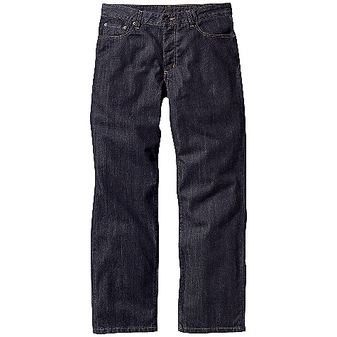 Free Shipping. Patagonia Men's Regular Fit Organic Cotton Jeans DECENT FEATURES of the Patagonia Men's Regular fit Organic Cotton Jeans Durable-yet-soft organic cotton denim 5-pocket-jeans styling Button fly The SPECS Regular fit Weight: 22 oz / 623 g Inseam: short: 30in., regular: 32in., long: 34in. Dark Wash: 11-oz 100% organic cotton denim, 9.5-oz 99% organic cotton, 1% spandex This product can only be shipped within the United States. Please don't hate us. - $89.00
