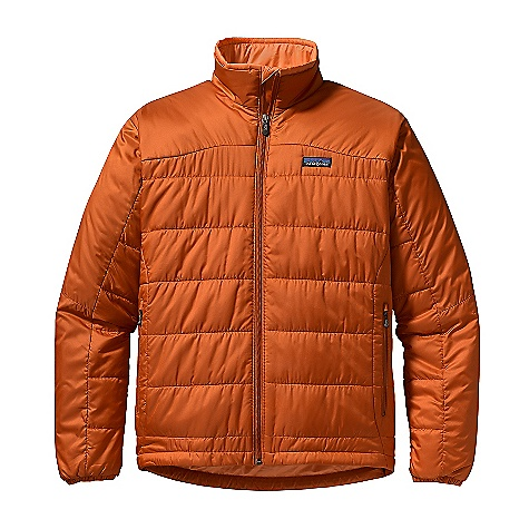 On Sale. Free Shipping. Patagonia Men's Micro Puff Jacket DECENT FEATURES of the Patagonia Men's Micro Puff Jacket Windproof shell made of a lightweight recycled polyester with a Deluge DWR finish Insulated with warm and compressible 100-g Prim aloft Sport Durable, soft insulation stays warm even when wet Articulated elbows improve mobility and stretch cuff inserts enhance protection Full-length front zipper has a low bulk wind flap Two zippered hand warmer pockets and one internal zippered storage pocket Draw cord hem stuff sack included The SPECS Regular fit Weight: 16.4 oz / 465 g Shell: 1.7-oz 30-denier ripstop 100% recycled polyester with a Deluge DWR (durable water repellent) finish Insulation: 100-g PrimaLoft Sport 100% polyester Lining and Stuff Sack: 1.4-oz mini-ripstop 100% polyester This product can only be shipped within the United States. Please don't hate us. - $139.99