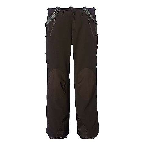 Free Shipping. Patagonia Women's Backcountry Guide Pants DECENT FEATURES of the Patagonia Women's Backcountry Guide Pants Burly, highly breathable, recycled polyester double-weave with 4-way stretch is wind-resistant and is treated with a Deluge DWR (durable water repellent) finish for wet-weather protection Seat and knee panels feature a waterproof/breathable H2No barrier and Deluge DWR finish Brushed interior for next-to-skin comfort 3-point, removable suspenders Belt loops and micro fleece-lined waistband Pockets: Two front slash, one vertical thigh All pocket zippers treated with a Deluge DWR finish Zippered thigh vents with mesh-lined openings Zippered fly Gusseted, zippered cuffs with two-position snaps, edge guards and built-in internal mini-gaiter The SPECS Slim fit Weight: 24.2 oz / 686 g Shell: 8.6-oz 75-denier 92% all-recycled polyester, 8% spandex double-weave with 4-way-stretch Seat and Knee Panels: 2.5-layer, 4.2-oz 50-denier 100% recycled polyester ripstop with a waterproof/breathable H2No barrier and a Deluge DWR (durable water repellent) finish This product can only be shipped within the United States. Please don't hate us. - $175.00