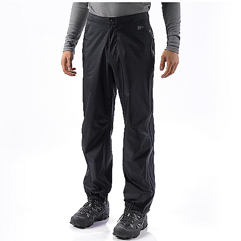 On Sale. Free Shipping. Patagonia Men's Rain Shadow Pants DECENT FEATURES of the Patagonia Men's Rain Shadow Pants Lightweight, 2.5-layer tear-resistant H2No Performance Standard nylon fabric is highly breathable and repels moisture Highly engineered interior surface moves moisture away from skin, protects the waterproof/breathable barrier from abrasion, and slides easily over layers Clean-finished separating waistband is partially elasticized and has a zip fly Fully separating side-zips are watertight, coated and treated with a Deluge DWR finish Snap closures at ankle and waist Articulated knees The SPECS Regular fit Weight: 10.9 oz / 309 g H2No Performance Standard Shell: 2.5-layer, 2.5-oz 100% nylon with a waterproof/breathable barrier and a Deluge DWR (durable water repellent) finish This product can only be shipped within the United States. Please don't hate us. - $88.99