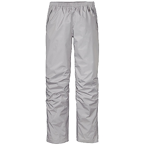 Free Shipping. Patagonia Women's Torrentshell Pants DECENT FEATURES of the Patagonia Women's Torrentshell Pants 2.5-layer H2No Performance Standard nylon ripstop waterproof/breathable fabric repels moisture Pull-on, elasticized waistband with internal drawcord Pockets: Two zippered handwarmers and zippered back pocket all have Deluge DWR-treated zippers and storm flaps Articulated knees Adjustable, self-fabric hook-and-loop closure at ankle with Deluge DWR-treated zipper and storm flap Pants stow in left handwarmer pocket The SPECS Regular fit Weight: 9.2 oz / 260 g H2No Performance Standard Shell: 2.5-layer, 2.6 oz 50-denier 100% nylon ripstop with a waterproof/breathable barrier and a Deluge DWR (durable water repellent) finish This product can only be shipped within the United States. Please don't hate us. - $99.00