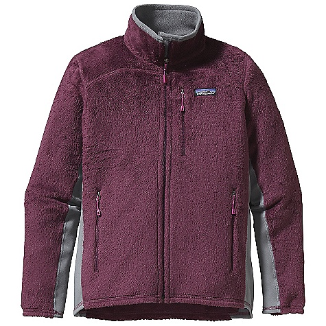 Free Shipping. Patagonia Women's R2 Jacket DECENT FEATURES of the Patagonia Women's R2 Jacket Excellent warmth-to-weight ratio Compressible, breathable and stretchy Directional knit wicks moisture and speeds dry time Collar and chin flap lined with Polartec Power Stretch fabric (recycled polyester) for next-to-skin comfort Polartec Power Stretch fleece panels under the arms allow for a close fit, improved motion and better durability in high-wear areas Zippered Pockets: Two hand warmers, one left chest Shoulder seams set forward for pack-wearing comfort The SPECS Slim fit Weight: 11.4 oz / 323 g Body: 6.1-oz Polartec Thermal Pro 97% polyester (64% recycled), 3% spandex Side Panel: 6.6-oz Polartec Power Stretch 88% polyester (60% recycled), 12% spandex This product can only be shipped within the United States. Please don't hate us. - $159.00