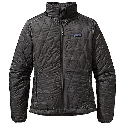 Free Shipping. Patagonia Women's Nano Puff Jacket DECENT FEATURES of the Patagonia Women's Nano Puff Jacket Ultra light ripstop recycled polyester Lightweight 60-g PrimaLoft One insulation provides excellent warmth and compressibility Unique quilt pattern holds insulation in place for durability Zippered pockets: two hand warmers, one internal chest pocket (doubles as stuff sack) with a reinforced carabineer clip-in loop Dual-adjust draw cord hem seals out wind The SPECS Regular fit Weight: 10.5 oz / 297 g Shell: 1-oz 15-denier 100% recycled polyester Insulation: 60-g PrimaLoft One 100% polyester (70% recycled) Lining: 1.4-oz 22-denier 100% recycled polyester Shell and lining have a Deluge DWR (durable water repellent) finish This product can only be shipped within the United States. Please don't hate us. - $199.00